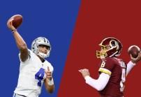 Dallas Cowboys versus Washington Redskins
