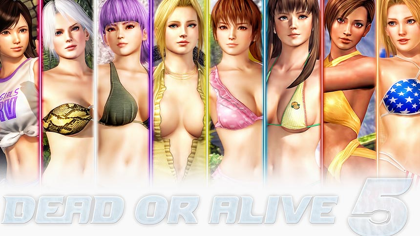 Chicas de Dead or Alive