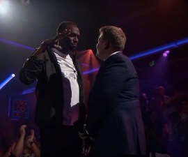 Usain Bolt vs James Corden