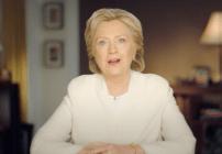 Hillary Clinton lanza su último mensaje antes de las elecciones presidenciales