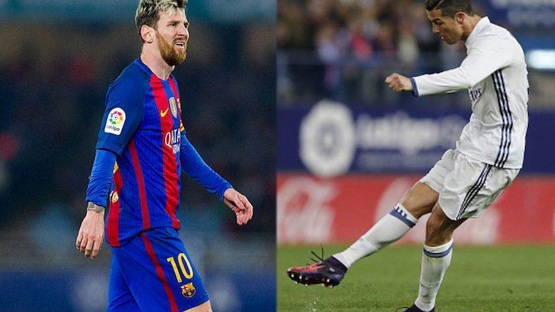 Messi contra Ronaldo Clásico