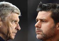 Pochettino y Wenger son los técnicos del Arsenal y Tottenham