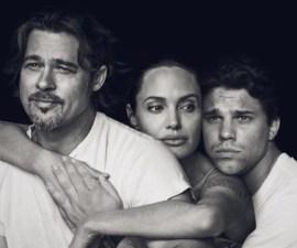 Rob, Brad Pitt y Angelina