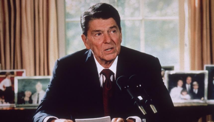 Ronald Reagan ganó en 1984