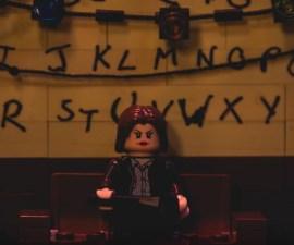La versión de Stranger Things en Lego