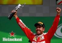 Sebastian Vettel Gran Premio México