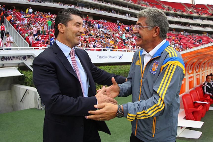 Chivas v Tigres UANL - Apertura 2014 Liga MX