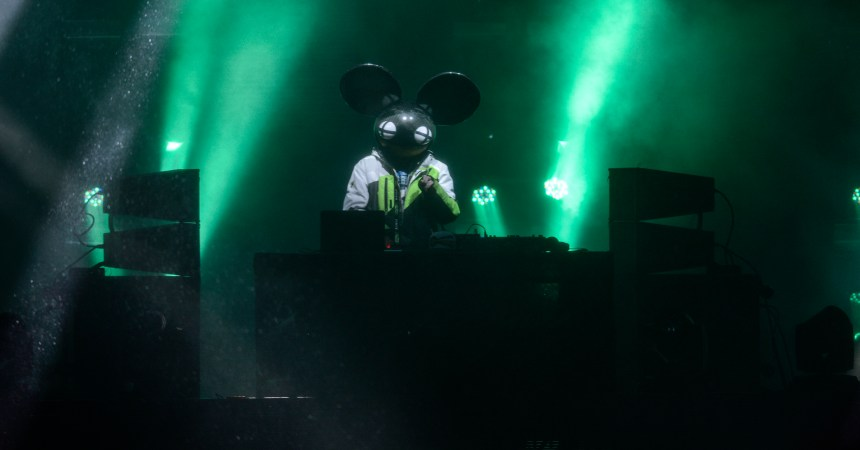 ASPEN, CO - JANUARY 30:  Deadmau5 performs at X Games Aspen 2016 on January 30, 2016 in Aspen, Colorado.  (Photo by Riccardo Savi/Getty Images)