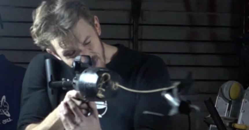 Pistola con gancho de Batman