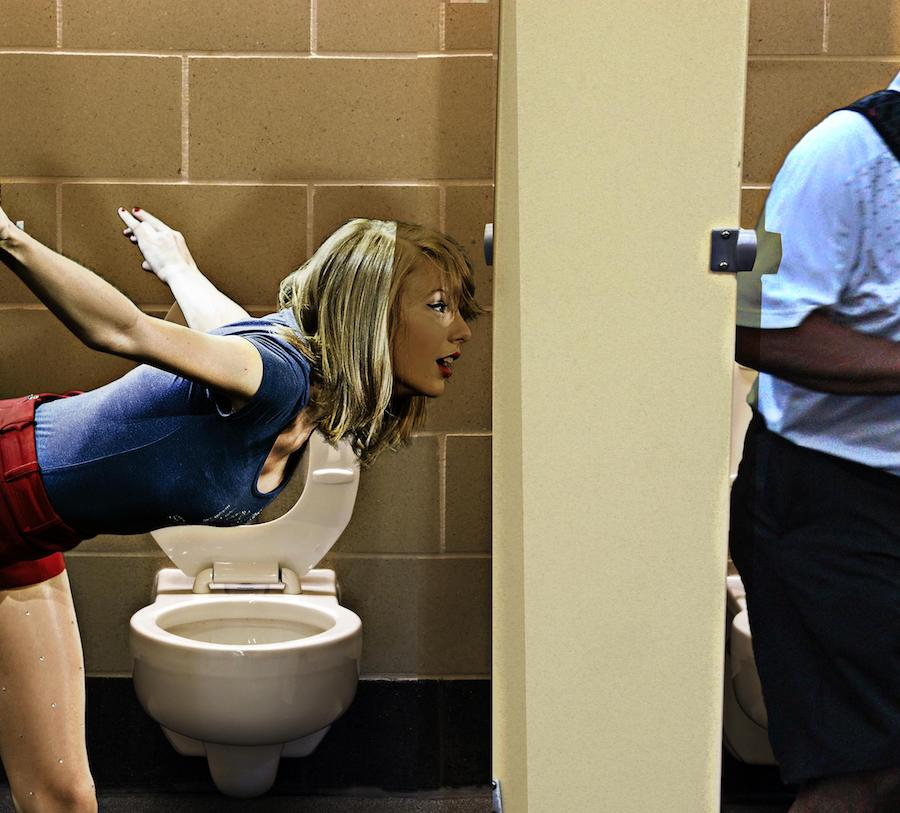 Taylor Swift en un glory hole