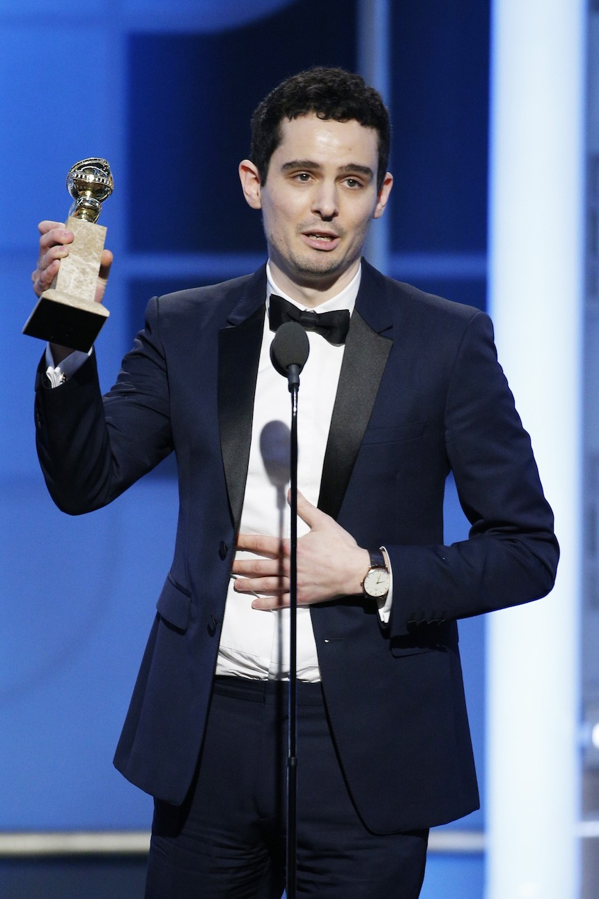 Damien Chazelle Golden Globes