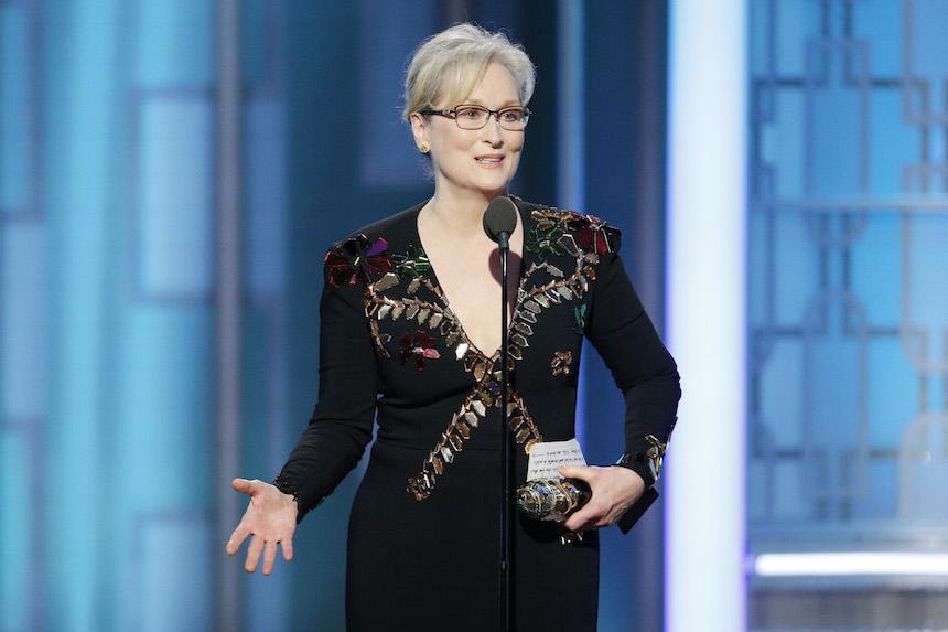 Meryl Streep Golden Globes