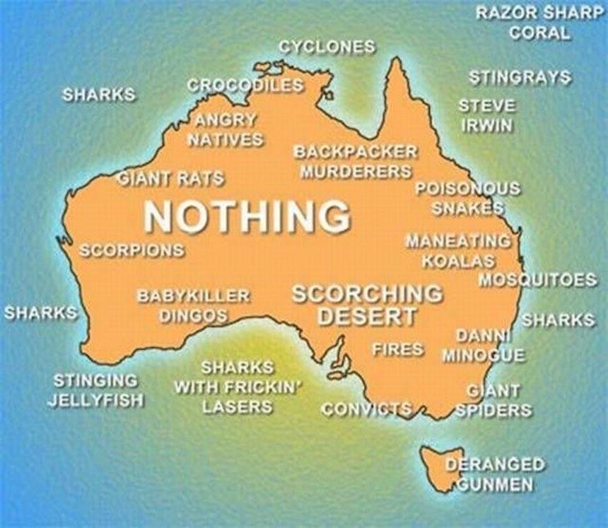 Así es la vida en Australia