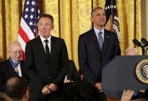 ¡Bruce Springsteen realizó un show secreto en honor a Obama!