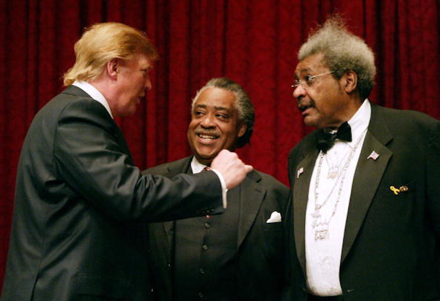 Donald Trump y Don King