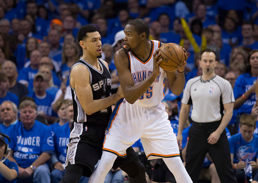San Antonio Spurts v Oklahoma City Thunder