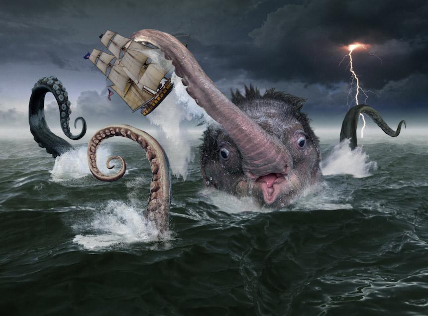 Elefante bebé - Kraken