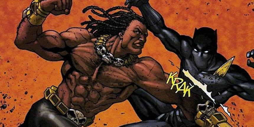 Black Panther vs Erik Killmonger