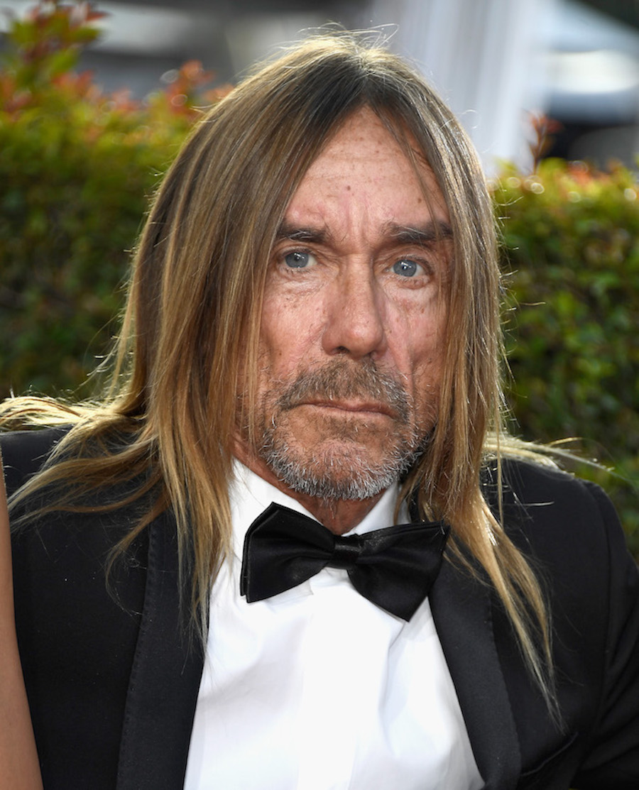 Iggy Pop en los Golden Globes
