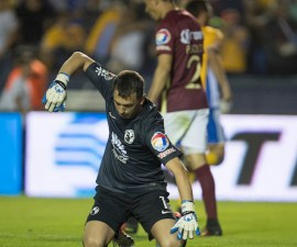 Action photo during Tigres