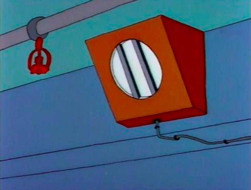Los Simpson - Bocina de la escuela