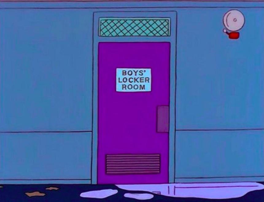 Los Simpson - Lockers
