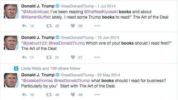 trump recomendaciones