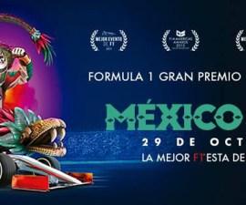 Poster del Gran Premio de Mexico 2017