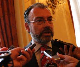 El canciller Luis Videgaray indica que recurrirían a la ONU para denunciar las decisiones de Donald Trump