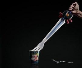 Cup Noodle Final Fantasy