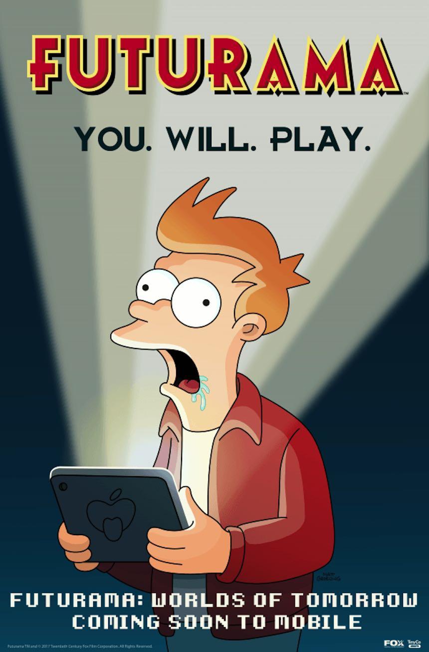 Promo - Nuevo juego de Futurama