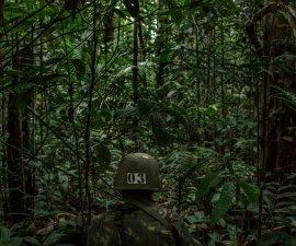 Soldado en la jungla