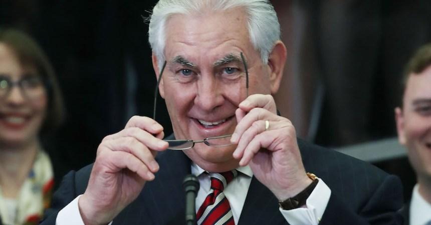 Rex Tillerson, secretario de Estado del gabinete de Donald Trump
