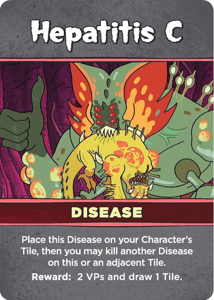 Rick & Morty: Anatomy Park Hepatitis C