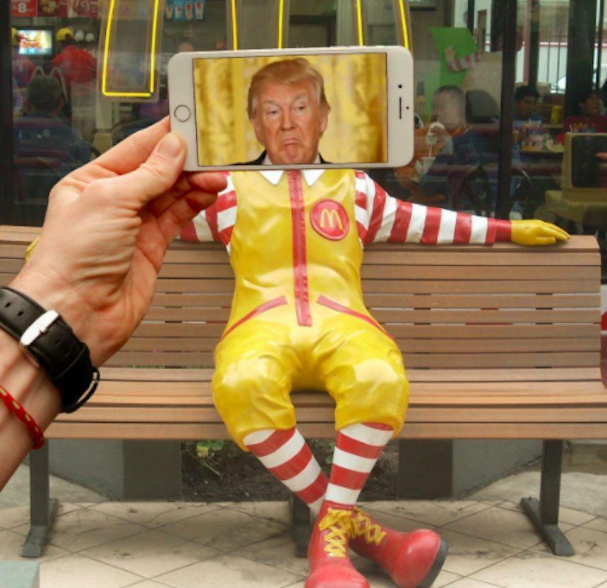 SnaptChat - Donald McDonalds