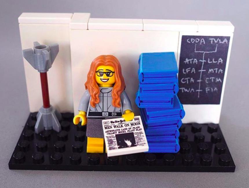 LEGO - Margareth Hamilton