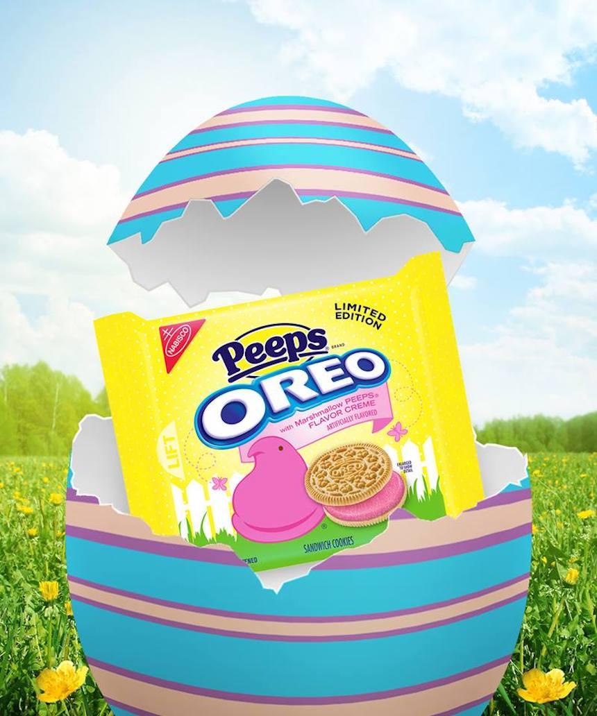 Las galletas rosadas de Oreo