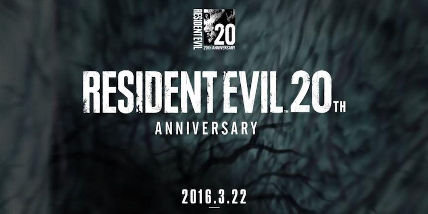 Resident Evil 20 Aniversario