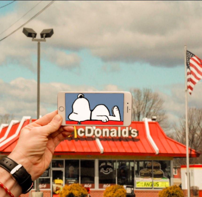 SnapChat - Snoopy