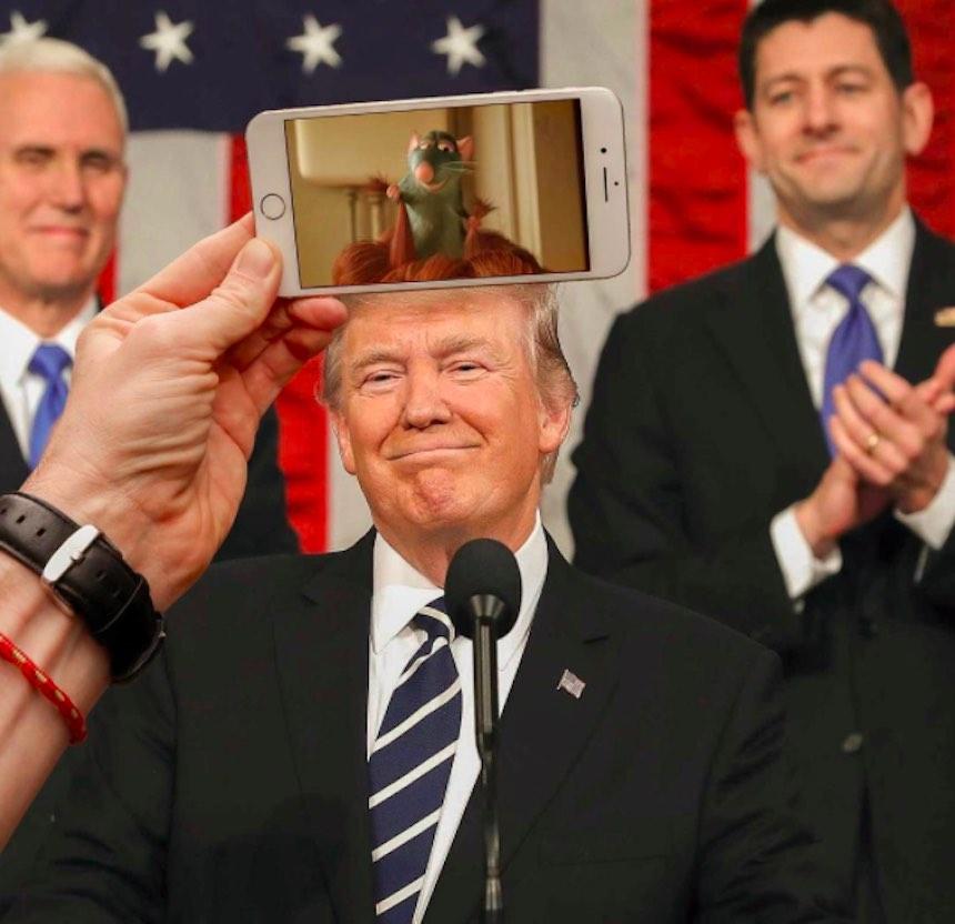 SnapChat - Trump