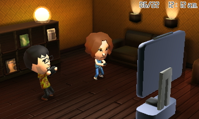 My Tomodachi is pretty much the real-life me.
