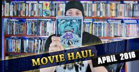 Movie Haul April 2016