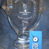 The Sore Eye Cup - San Diego's Best Beer