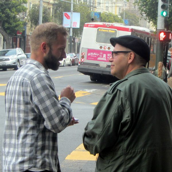 CAL WITNESSES AT HAIGHT AND MASONIC ST.