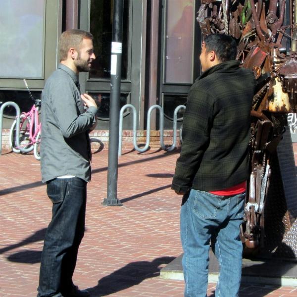 CAL WITNESSES TO MAN IN BERKELEY.