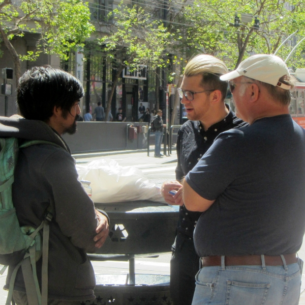 JACOB AND STEVE WITNESS AT 5TH AND MARKET