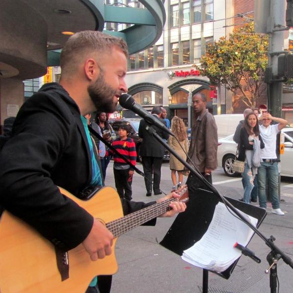 CAL SINGS AT SONY METREON.