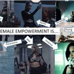 "Calling bullshit where it's obvious: Demi Lovato and Taylor Swift combine objectification with glorified violence and call it ""female empowerment."""