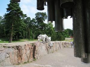 Helsinki: Monumento a Sibelius