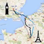 Cruzando o Canal da Mancha: Como ir de Paris a Londres (ou vice-versa)